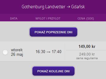 gothenburg gdansk